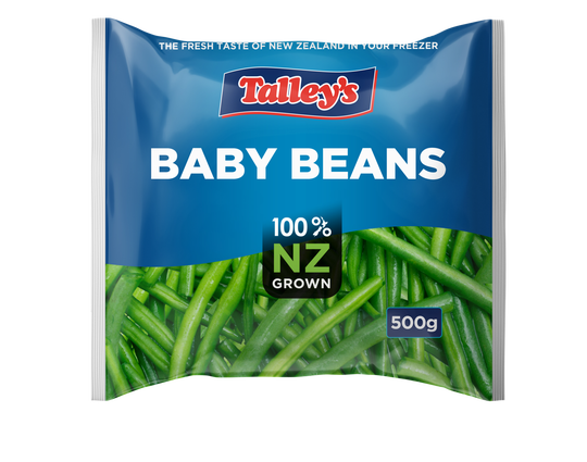Talleys Baby Beans 500G Mockup