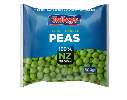 Talleys Peas 500G Mockup