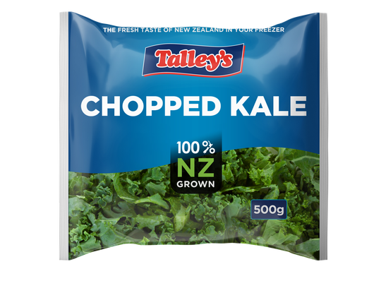 Talleys Chopped Kale 500G Mockup