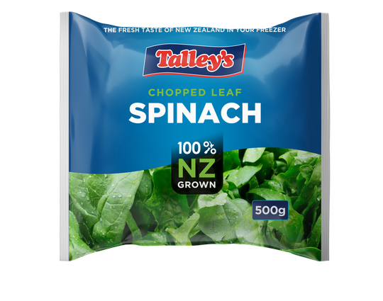 Talleys Spinach Portions Mockup