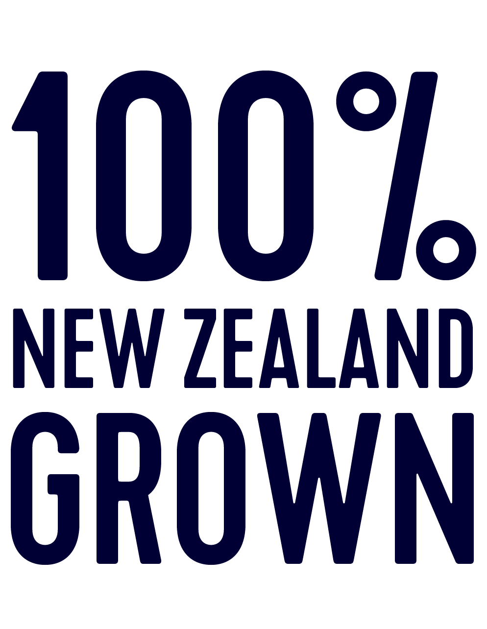 100% NZ grown