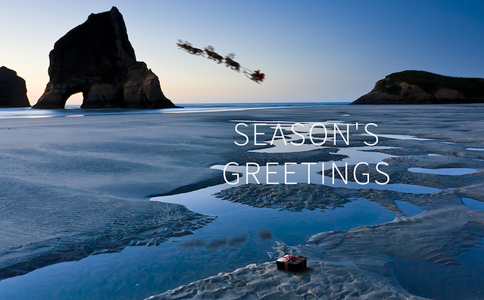 Season's Greetings from Andrew Talley